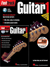 GUITAR METHOD STARTER PACK Teach Yourself Beginners Book, DVD & Audio Download