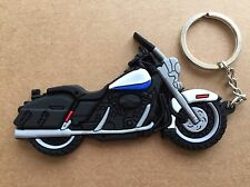 New Harley Davidson Motorcycle keychain Rubber. Free Shipping