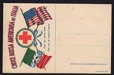 POSTA MILITARE 1918 Franchigia Croce Rossa Americana NUOVA (FM3)