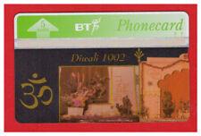 """UNITED KINGDOM: BTG-077 """"Diwali 1992 (1) - English Text"""" CN:227A New"""