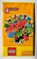 Lego Create The World Trading Cards  (Unopened Pack) sainsburys