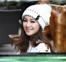 Women Winter Warm Hi-Korean-Fashion Gangnam Style Knit Hat cap