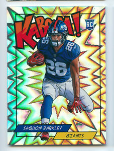 2018 Panini Kaboom Saquon Barkley SSP RC Rookie New York Giants