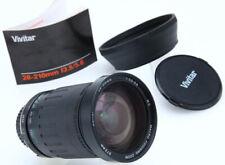 Vivitar Series 1 MC 28-210mm f3.5-5.6 mf macro zoom lens MD mount w/hood 386919