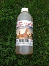 500ml Red Stop Solution Red Mite Control for Chickens Poultry Bird Hatching eggs