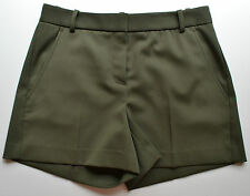 NWT $215 Theory Wool Blend Garland Short Size 4