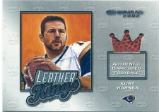 02 Donruss KURT WARNER Game Used FOOTBALL Card # 188/250!