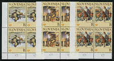 Slovenia 489-91 BL Blocks MNH Martin Krpan from Vrh, Horse, Folkfore