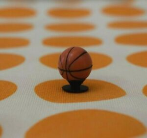Crocs Jibbitz Charms * 3D BASKETBALL * Authentic - NEW with Tags!