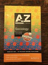 A to Z Sociology Handbook 4th edition By Tony Lawson and Joan Garrod