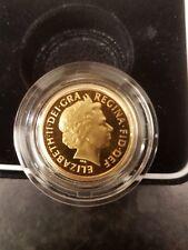2002 Royal Mint Golden Jubilee Gold Proof Half Sovereign