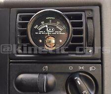 VW Transporter T4 Heater vent 52mm  black gauge pod panel adapter.