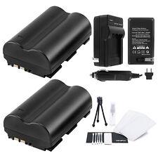 UltraPro 2pc Canon BP-511/BP-511a/BP-512 Replacement Batteries w/Charger Bundle