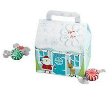 5 Christmas Holiday Favor Treat Gift Box Santa Reindeer snow Box Boxes