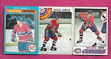 1977 1978 1979 OPC CANADIENS DOUG JARVIS  CARD (INV# C3420)