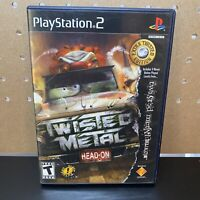 Twisted Metal Head-On Extra Twisted Edition PS2 ~CIB & Tested ~ Free Shipping