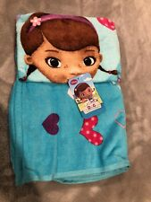 Disney Doc Mcstuffins Towel & Washcloth Set - Blue