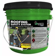 Roofing Safety System Roof Fall Protection Anchor Connector Rope Harness Bucket