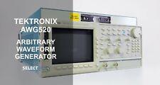 Tektronix Awg520 1 Gss 2 Ch Arbitrary Waveform Generator Look Ref 734g