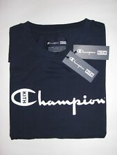 351c3524 Kith x Champion Script Logo Tee Shirt Navy Blue Mens Large NEW! Ronnie Fieg