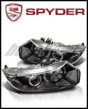 Spyder Honda Civic 06-08 2Dr Projector Headlights LED Halo Black High H1 Low H1