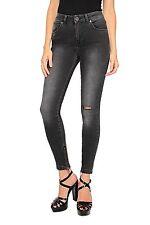 Distressed Damen-Jeans