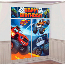 Blaze And The Monster Machines Party Supplies SCENE SETTER Backdrop Plastic