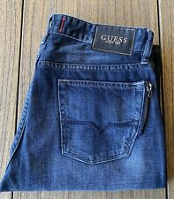 Guess Men's Distresses Boot Cut Jeans Sz 33x32