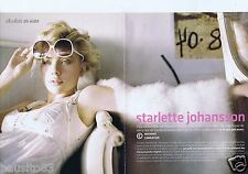 Coupure de presse Clipping 2005 Scarlett Johansson  (6 pages)