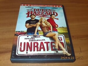 The Dukes of Hazzard (DVD, 2005, Unrated, Widescreen Unrated Edition)