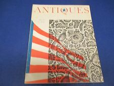 Antiques Magazine, July 1960,The Vasa: Sunken Treasure Recovered,Antiques Survey