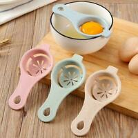 Plastic Egg Separator White Yolk Sifting Home Kitchen Dining Chef Room X5X7