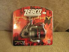 Zebco Trophy ZT 50 Big Fish Fishing Reel - Pre-Spooled w/17 lb. Line  (G 50)