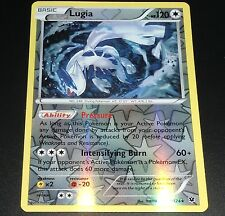 Lugia 78/124 XY Fates Collide REVERSE HOLO Pokemon Card NEAR MINT