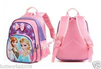 Frozen Elsa & Anna Girls Kids Cute Large Backpack School Bag Rucksack Lunch Bag*