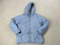 VINTAGE Nike ACG Jacket Womens Large Purple Level 3 Outer Layer Hooded Coat 90s*
