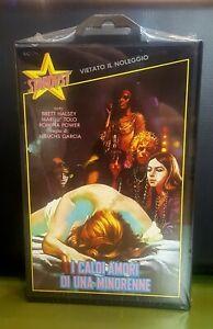 I caldi amori di una minorenne - 1969 - vhs stardust - Romina Power - sigillato