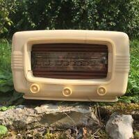 Ancienne radio TSF radialva en Bakélite