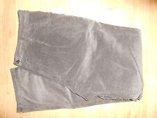 PANTALONE VELLUTO A COSTE  UOMO RAGAZZO COL. grigio scuro  TG.54