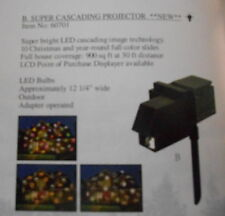 Mr. Christmas Super Cascading Projector #60701 NIB FREE SHIPPING 48 STATES