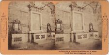 Suisse Chapelle Guillaume Tell à Altdorf Photo Stereo Vintage Albumine ca 1870