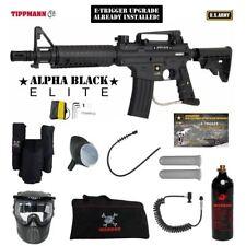 Tippmann US Army Alpha Elite Tactical E-Grip Private Paintball Gun Package