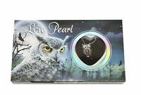 "Love Wish Pearl Necklace Kit Set Culture Pearl 16"" Necklace - CZ Owl"