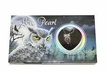 """Love Wish Pearl Necklace Kit Set Culture Pearl 16"""" Necklace - CZ Owl"""