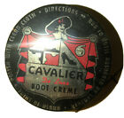 1950's *New* Cavalier De Luxe Leather Shine Boot Creme