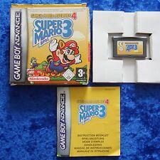 Super Mario Bros. 3 + Super Mario Advance 4, Nintendo GameBoy Advance Spiel, OVP