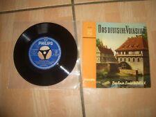Das deutsche Volkslied 1.Folge Single Vinyl von 1962
