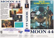MOON 44 CBS FOX  MICHAEL PARE  LISA EICHHORN 1989  VHS VIDEO PAL  A RARE FIND