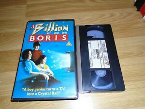A BILLION FOR BORIS - VHS - EX RENTAL - BIG BOX - RARE FREAKY FRIDAY SEQUEL