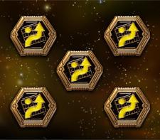 Star Wars: X-Wing Miniature Games Metal Scum Evade Tokens -- Broken Egg Games